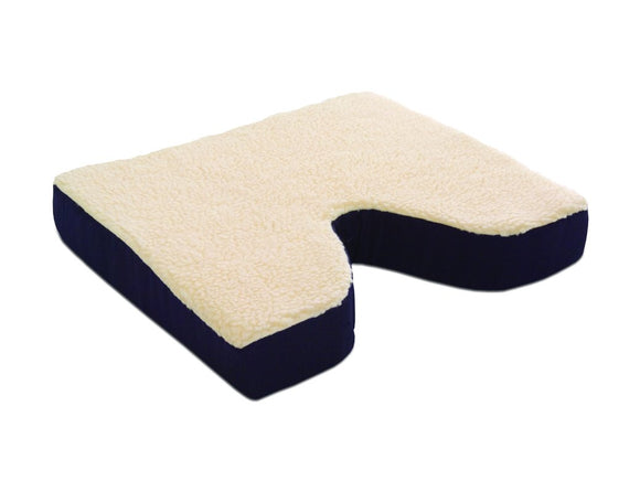 N1006 Fleece Covered Coccyx Cushion - 16in x 16in x 3in