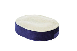 N8101 Donut Cushion with Gel Insert  and Fleece Cover  18in xin 16in x 4in
