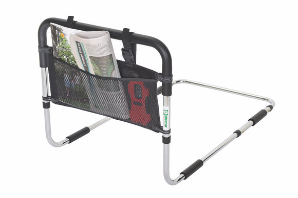 P1410P Height Adjustable Hand Bed Rail with Pouch
