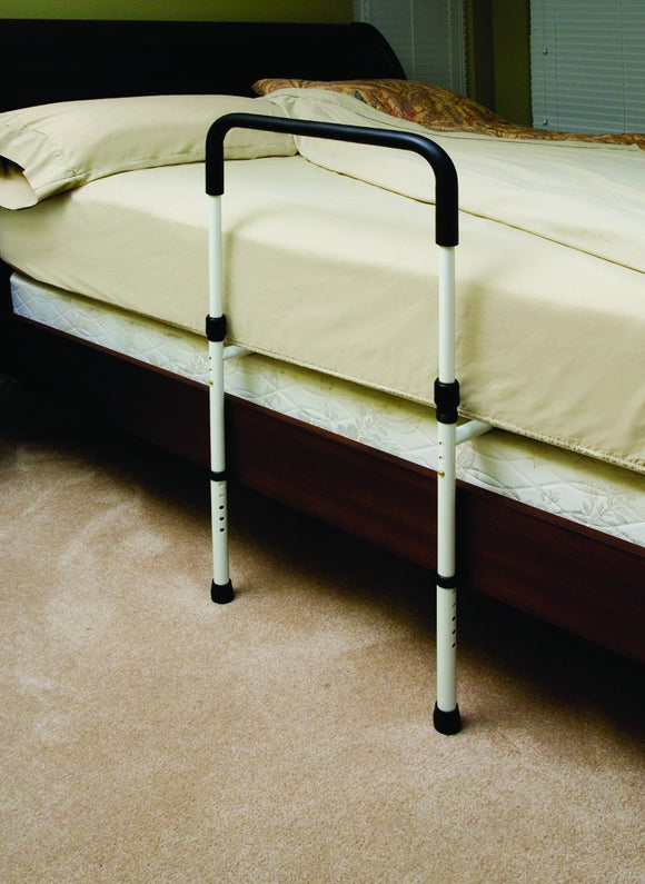 P1411 Height Adjustable Hand Bed Rail w-Floor Supports