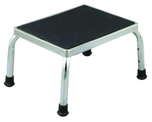 P2700 Chrome Plated Stool w-non-slip surface