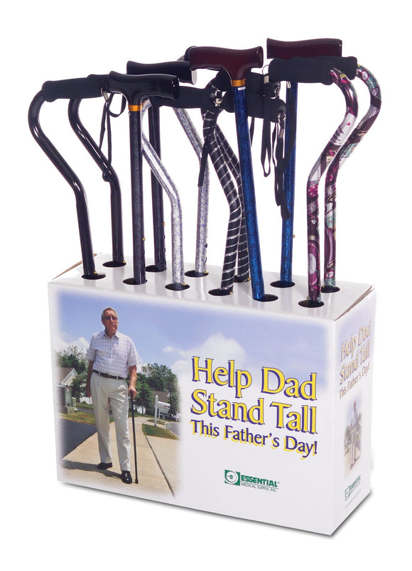 SW730-Father Full Color Cane Display with Mother's Day Theme