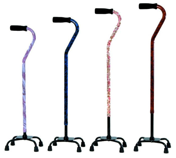 W1303M Designer Quad Cane - Mixed Carton