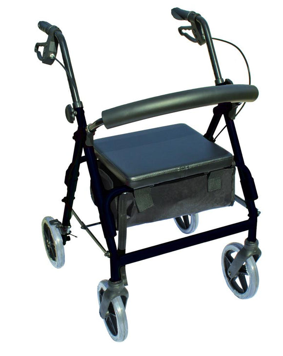 W1630BK-12 The Blazer 4 Wheel Walker - Black