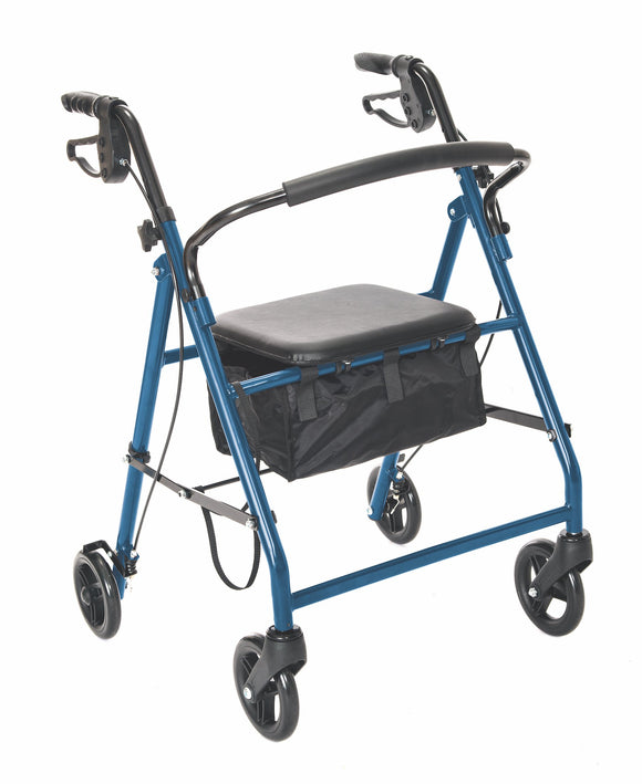 W1700B-14 Essential Rollator - Blue