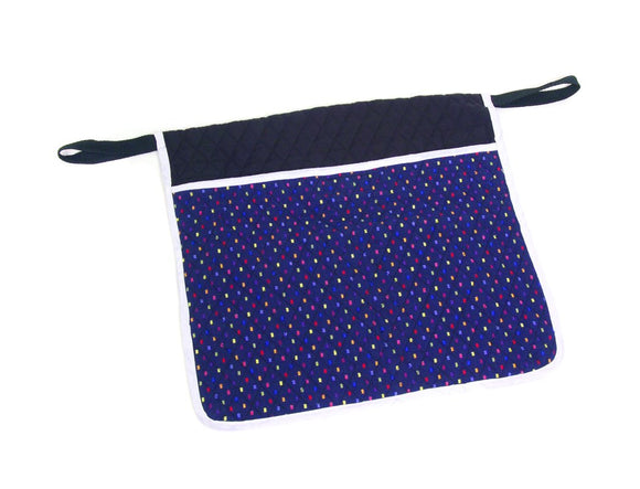 W4550 Quilted Deluxe Walker Pouch - Confetti