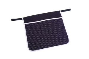 W4551 Quilted Deluxe Walker Pouch - Pinpoint