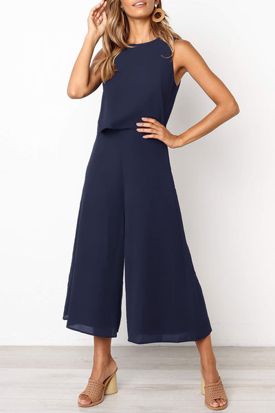 Balanla Loose One-piece Jumpsuit (4 Colors)