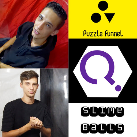 JUSTIN DOUBLE - Puzzle Funnel & Slime Balls