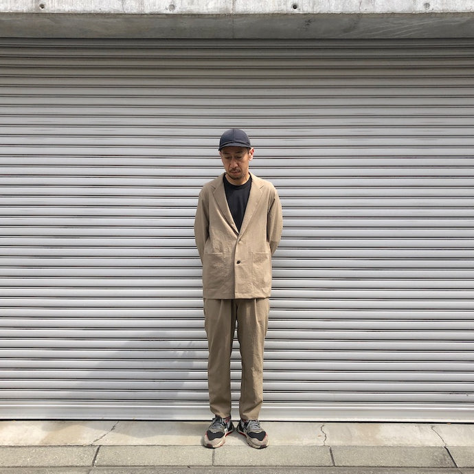 -〔MEN'S〕-  LAMOND ラモンド  SHARI  JACKET  /  SHARI PANTS  (SET UP )
