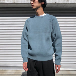 -〔MEN'S〕-  EVCON エビコン  CREW NECK SWEATER