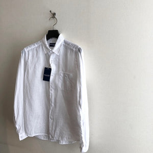-〔MEN'S〕- WHITE MOUNTAINEERING ホワイトマウンテニアリング  LINEN LONG SLEEVE SHIRT