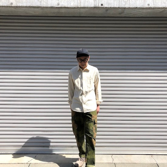 -〔MEN'S〕-  Nigel Cabourn ナイジェルケーボン  50s MEDICAL SHIRT