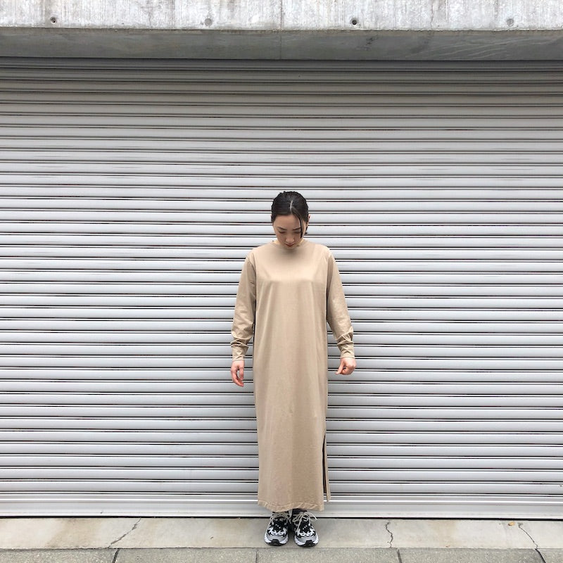 -〔WOMEN'S〕-  GICIPI ジチピ  AMETISTA SLIT ONE PIECE