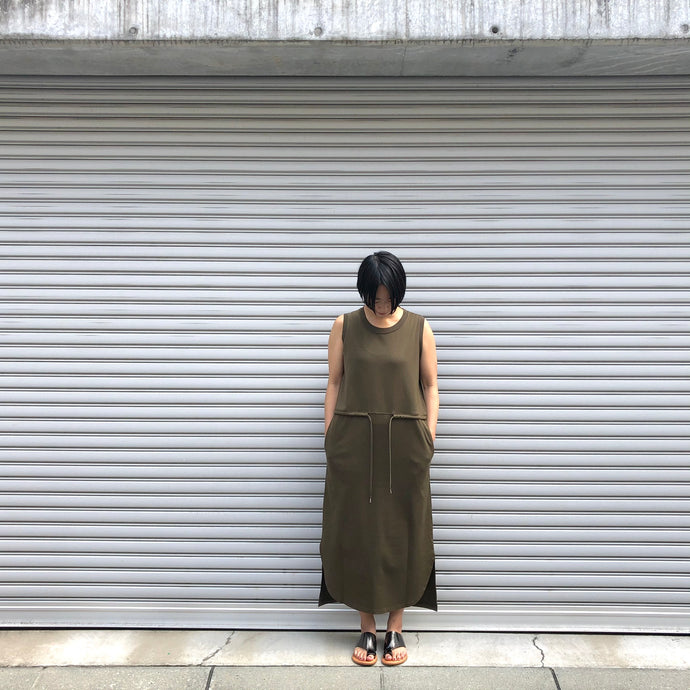 -〔WOMEN'S〕-  WHITE MOUNTAINEERING ホワイトマウンテニアリング  NO SLEEVE DRESS
