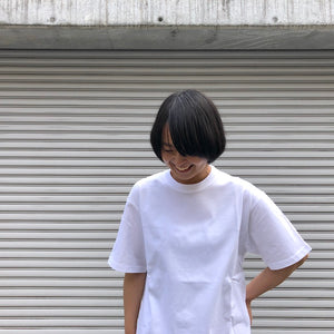 -〔WOMEN'S〕-  WHITE MOUNTAINEERING ホワイトマウンテニアリング  MESH CONTRASTED T SHIRT