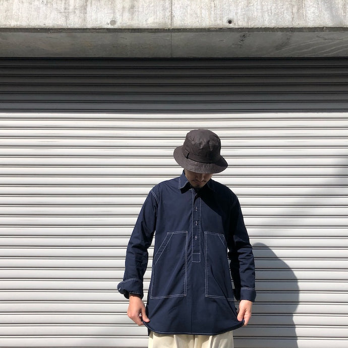 -〔MEN'S〕-  HAWKWOOD MERCANTILE ホークウッドマーカンタイル  UTILITY POCKET SHIRT