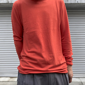 -〔MEN'S〕-   hannes roether ハネスルーザー   CUT OFF LONG SLEEVE T SHIRT