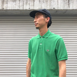 -〔MEN'S〕-  SCYE BASICS サイ ベーシックス   GARMENT DYED COTTON PIQUE POLO SHIRT