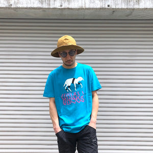 -〔MEN'S〕-  by Parra バイ パラ   GOAT REFLECTION T SHIRT