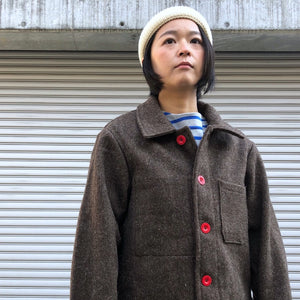 -〔UNISEX〕-  LABOUREUR ラブルール  WOOL FRENCH WORK JACKET