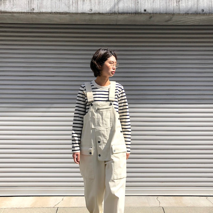-〔WOMEN'S〕-   Nigel Cabourn LYBRO ナイジェルケーボン ライブロ   NAVAL DUNGAREE HERRING BONE