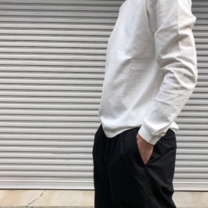 -〔MEN'S〕-  WHITE MOUNTAINEERING ホワイトマウンテニアリング Wardrobe  2TUCKED WIDE PANTS