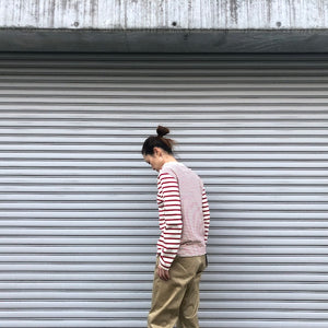 -〔WOMEN'S〕-  Nigel Cabourn ナイジェル ケーボン  SAILOR LONG SLEEVE T SHIRT
