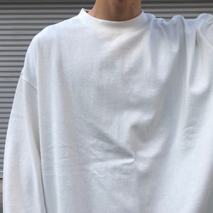 -〔MEN'S〕-  EVCON エビコン  WIDE  LONG SLEEVE T SHIRT