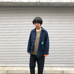 -〔WOMEN'S〕-  Nigel Cabourn ナイジェルケーボン LYBRO ライブロ  USMC SHIRT JACKET POPLIN