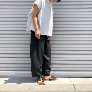 -〔WOMEN'S〕-  WHYTO ホワイト  TAPERED TOROUSER PANT