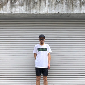 -〔MEN'S〕-  MOCEAN モーシャン   BOX LOGO T SHIRT