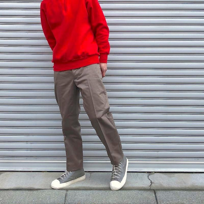 -〔MEN'S〕-  SCYE BASICS サイ ベーシックス   San Joaquin Cotton Chino Loose Fit Tapered