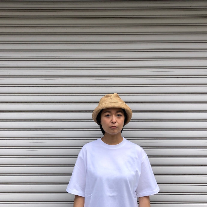 -〔MEN'S〕〔WOMEN'S〕-  mature ha マチュアーハ  MBOX-104 BOX HAT 7cm BRIM GROSGRAIN RIBBON