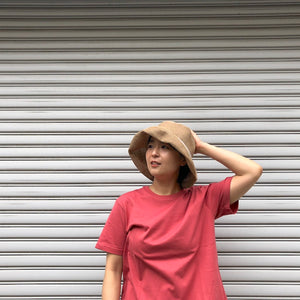 -〔WOMEN'S〕-  mature ha マチュアーハ  WP PAPER BRAID LIGHT HAT WIDE BOX HAT MPB1-01W