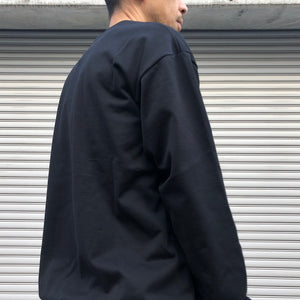 -〔MEN'S〕-  SCYE サイ   LOOPBACK TERRY CARGO POCKET SWEATSHIRT