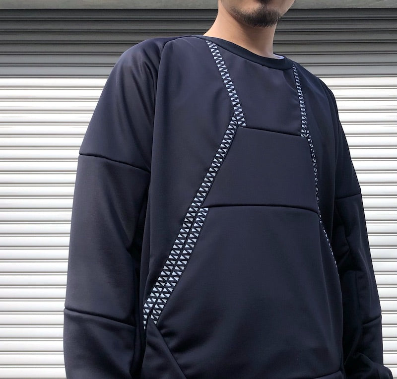 -〔MEN'S〕-  WHITE MOUNTAINEERING ホワイトマウンテニアリング  RAGLAN TAPED SWEATSHIRT