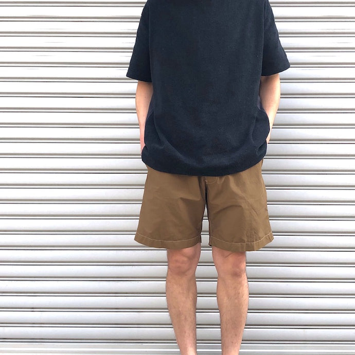 -〔MEN'S〕-  EVCON エビコン  IFNI COFFEE DYE SHORTS