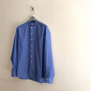 -〔MEN'S〕-  SCYE BASICS サイ ベーシックス   FINX COTTON OXFORD GRANDED COLLAR SHIRT
