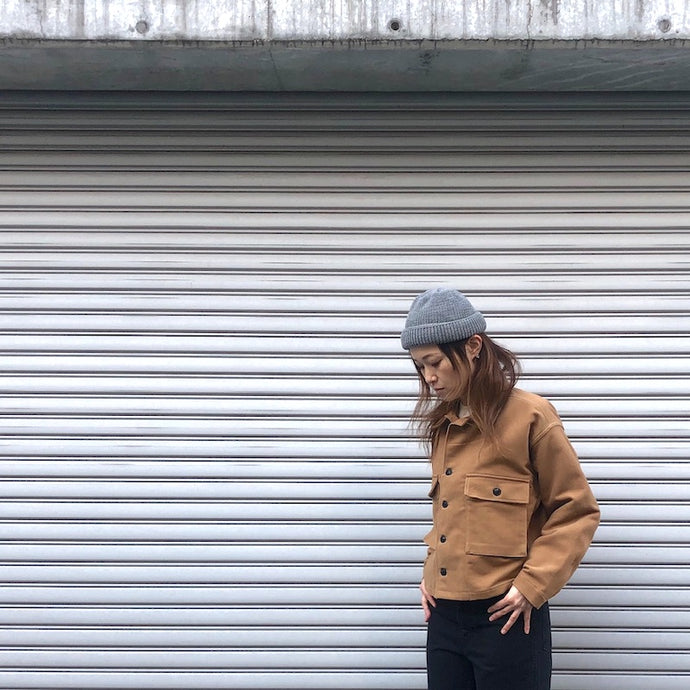 -〔WOMEN'S〕-  Nigel Cabourn ナイジェルケーボン  US ARMY SHIRT JACKET COTTON SUEDE