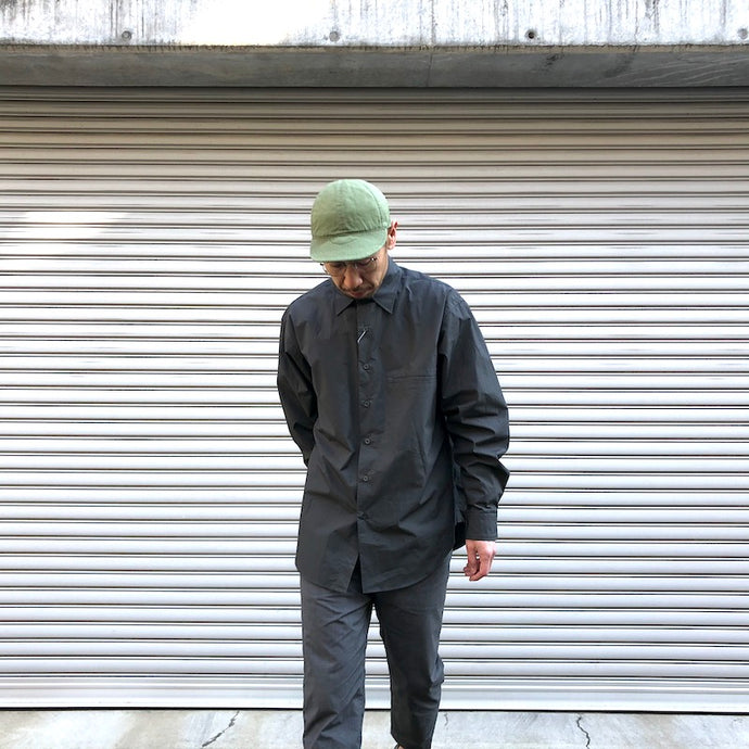 -〔MEN'S〕-  EVCON エビコン  PACKERING SHIRT