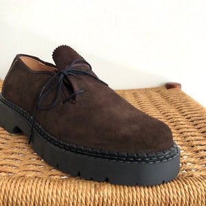 -〔MEN'S〕-  PESCADOR ペスカドール  SUEDE SIDE LACE UP SHOES