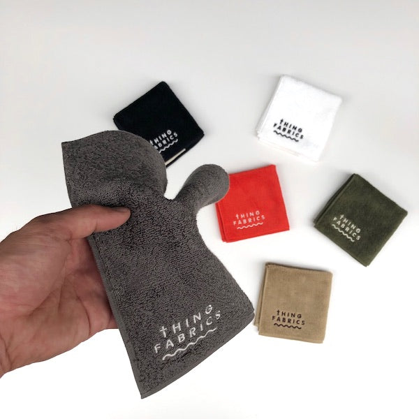 -〔DAILY NECESSARIES〕-  THING FABRICSシングファブリックス  HAND TOWEL