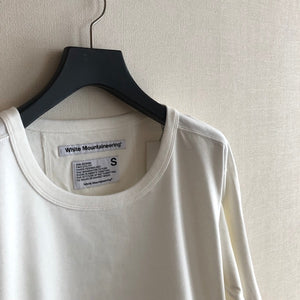 -〔WOMEN'S〕-  WHITE MOUNTAINEERING ホワイトマウンテニアリング  SIDE BELTED LONG SLEEVES T SHIRT