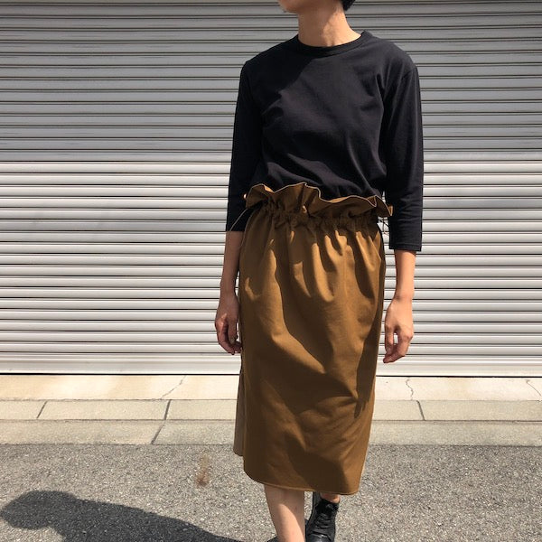 -〔WOMEN'S〕-  WHITE MOUNTAINEERING ホワイトマウンテニアリング  GATHERED TIGHT SKIRT