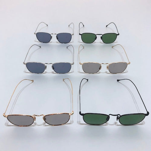 -〔MEN'S〕〔WOMEN'S〕-  VONN ヴォン   SARA  SUNGLASSES  WELLINGTON METAL FRAME  鯖江 made