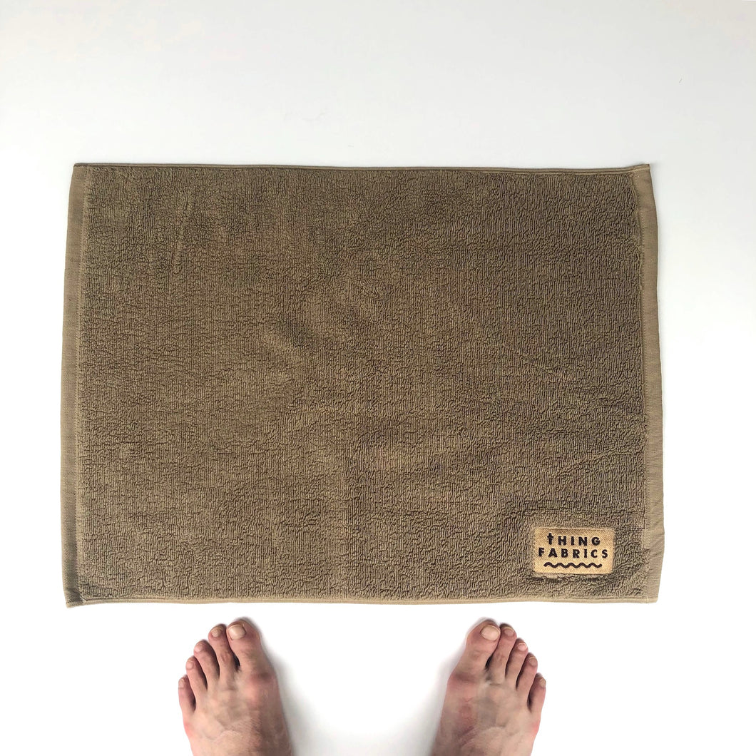 -〔DAILY NECESSARIES〕-  THING FABRICS シングファブリックス  BATH MAT