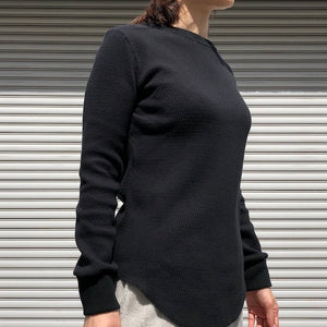 -〔WOMEN'S〕-  MY_ マイ  LONG THERMAL ROUND CUT