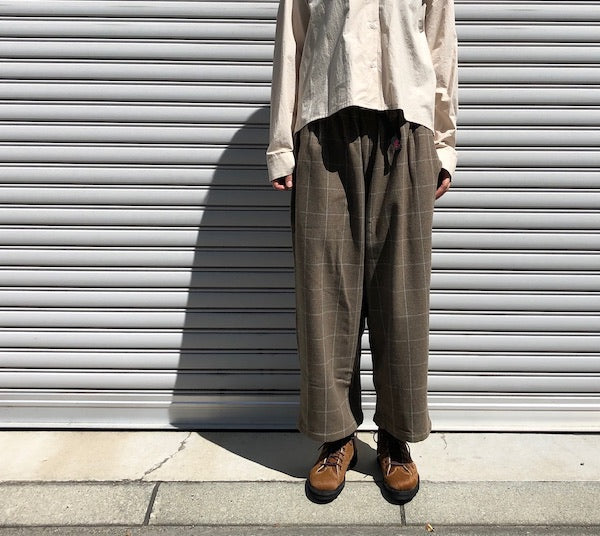 -〔WOMEN'S〕-  GRAMICCI グラミチ   WOOL BREND BALLOON PANTS