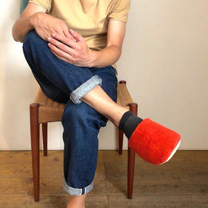 -〔DAILY NECESSARIES〕-  THING FABRICS シングファブリックス ROOM SANDAL